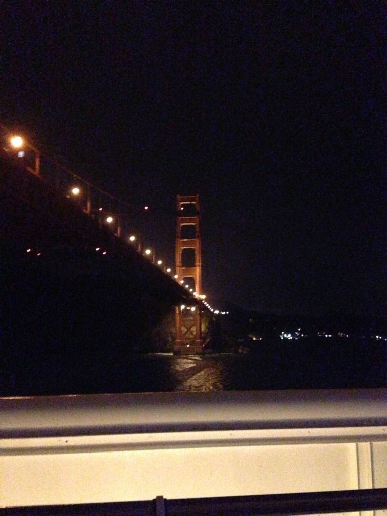 Under the GG Bridge