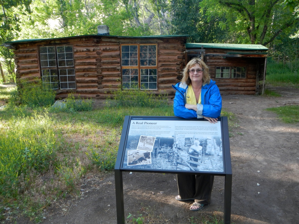 Homesteader Josie Morris'home, fascinating person