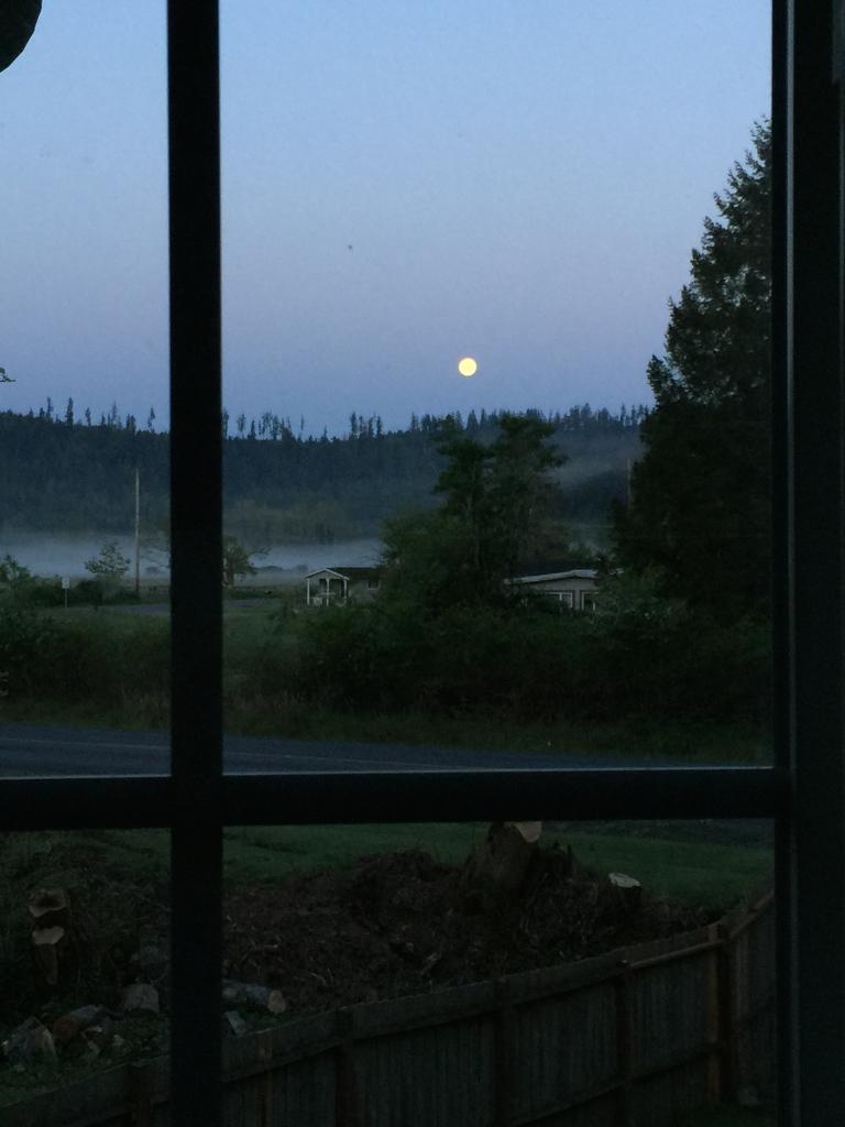 Full Moon Set