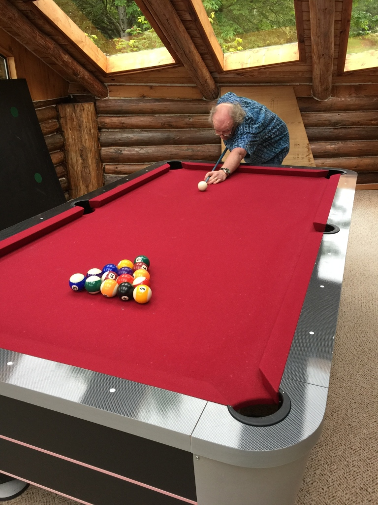 Played some pool