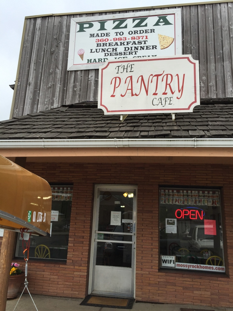 The Pantry!  A must for anyone passing through Mossyrock on Hwy 12.