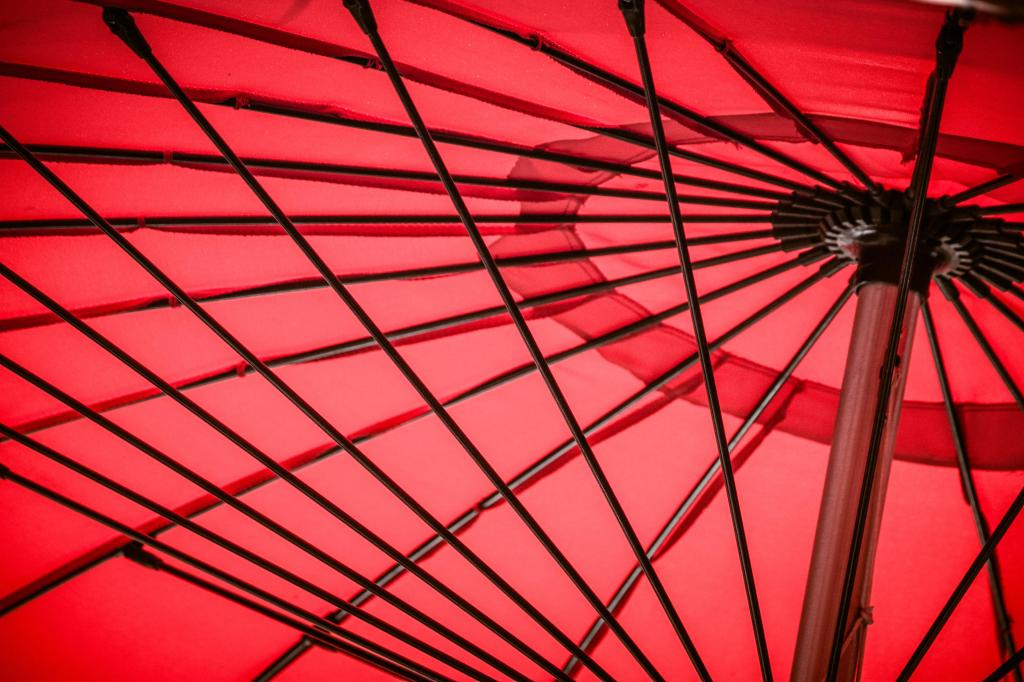 Parasol red-9726