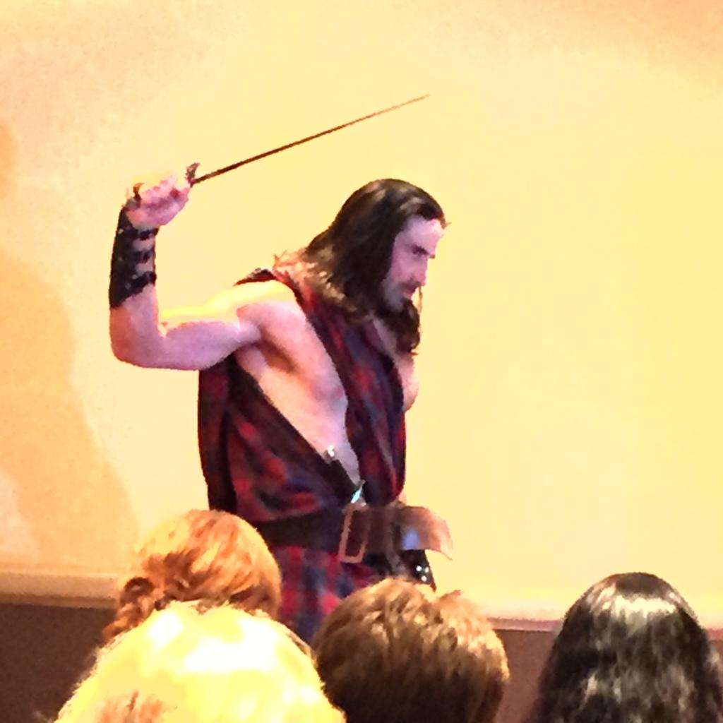 A Highlander!
