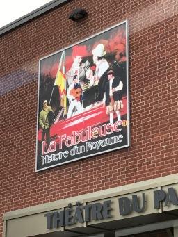 La Fabuleuse Stage Show in Saquenay